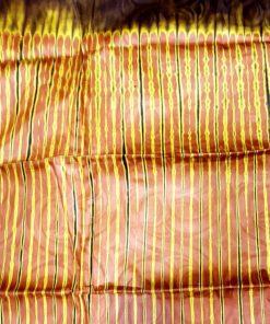 Bazin marron chocolat brun étoffe