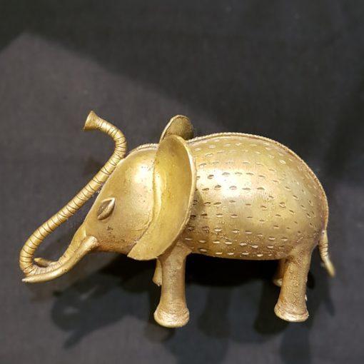 Éléphant bronze du Ghana