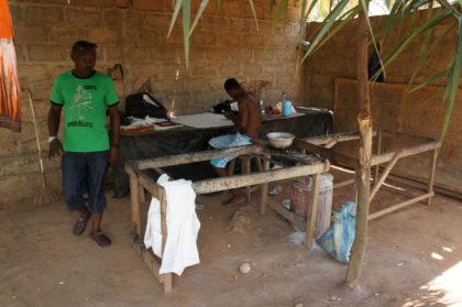 L'atelier du maitre batikié