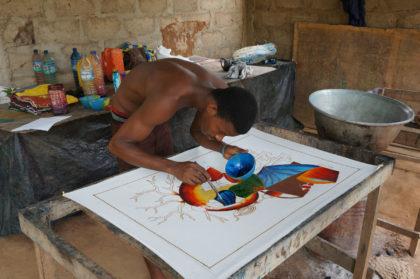 Des batiks africains parfois complexes
