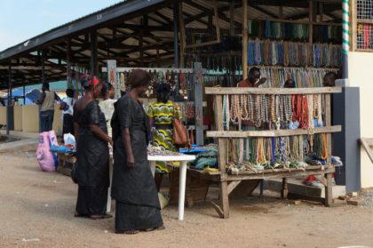 Le marché aux perles du Ghana