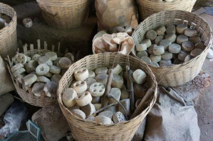 les moules des perles