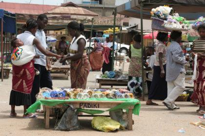 Le marché des perles au Ghana