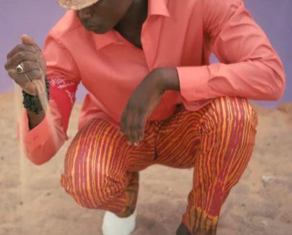 Pantalon africain pour homme en bazin teinté