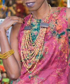 Bijoux d'Afrique ethnique chic