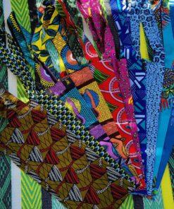 Tote bag en tissu africain wax