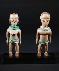 Couple de jumeaux vénavi Ewé du Togo
