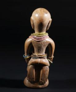 Statuette d'ancètre Bariba du Nord du Bénin