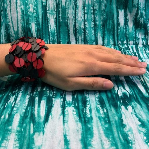 Bracelet perles de bakélites